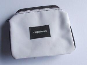NAPOLEON-PERDIS-MAKEUP-COSMETIC-BAG-WHITE-SMALL-TRAVEL-CASE-TOILETRIES-LADIES