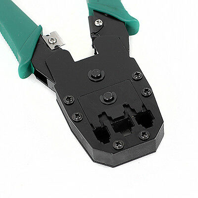 RJ45 RJ11 RJ12 CAT5 Network Lan Cable Wire Stripper Crimper Crimp PC Tool 2014