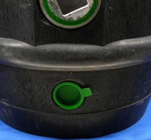Zapfloch Verschlusskappen Grün für BIERFASS FASSBIER mit BAYRISCHEM ANSTICH