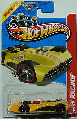 2013 Hot Wheels HW RACING Chevroletor Col. #123 (Yellow Version)