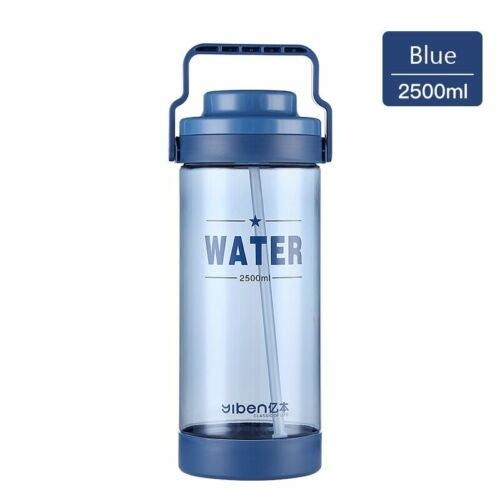 Bottle With Straw Plastic 700ml BPA Free Tritan Water Bottle Portable Sports