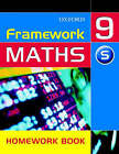 Framework Maths: Year 9: Support Homework Book by David Capewell (Paperback, 2004)