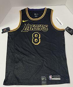 Nike Los Angeles Lakers Kobe Bryant 8/24 Swingman Jersey Mamba ...