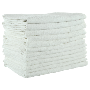 New-White-Terry-22x44-6lb-100-Cotton-Economical-Budget-Grade-Bath-Towels-12-pk