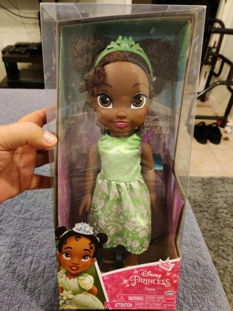 rare Disney Princess  Tiana Doll with Child Size Dress Gift Set fits size 4-6