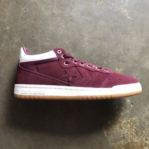 Image is loading CONVERSE-FASTBREAK-PRO-MID-DEEP-BORDEAUX-EGRET-GUM- deb723734