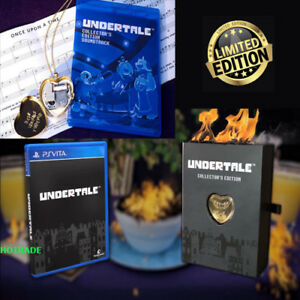 Details about Undertale Collector's Edition Nintendo Switch + 14k Gold  Music Box New Gift