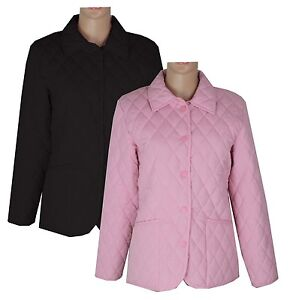 New-Ladies-Womens-Fitted-Horse-Pony-Riding-Equestrian-Quilted-Fitted-Jacket-Coat