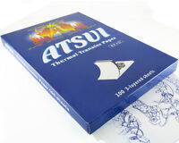 Atsui Tattoo Stencil Transfer Paper For Outline Tracing Art Supply (100-sheets)
