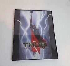Thor The Dark World Framed Foil Poster Print Metal Variant By Charlie Wen