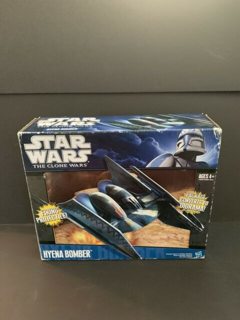 Star Wars The Clone Wars: Hyena Bomber Action Vehicle Toy 2010