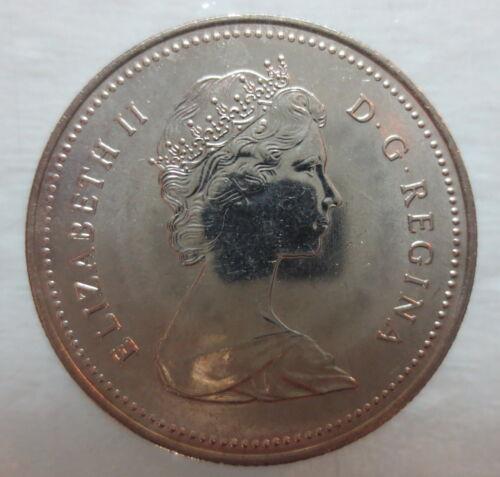 1983 CANADA 50¢ BRILLIANT UNCIRCULATED HALF DOLLAR COIN