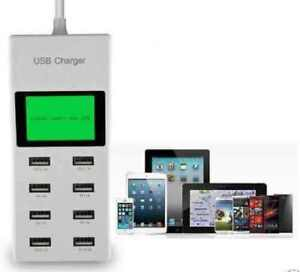 8-USB-Port-9-2A-High-Speed-Power-Adapter-Charger-With-LCD-Display