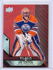 BEN SCRIVENS Oilers 2014/15 Black Diamond #66 Ruby Red Parallel 32/50 SP