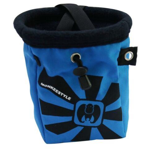 Blue Waterproof Anti-Slip Powder Chalk Bag Outdoor Mountain Rock Climbing Beam