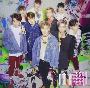 NCT-127-Japan-1st-Mini-Album-Kette-CD-normale-Version-NEU