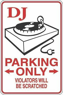 """Metal Sign Bubba Parking Only Violators Get Their A$$ Kicked 8"""" x 12"""" S024"""