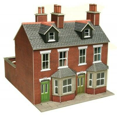 Stone Card Kit Metcalfe PO262 OO//HO Gauge Terraced Houses