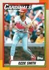 1990 Topps Ozzie Smith #590 Baseball Card