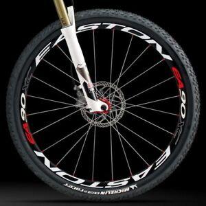 EA90XC Wheel Set Stickers Bike 26 27.5//29 Inch Wheels  Mountain Bike Wheel