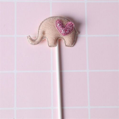 Pink Cake Topper for Birthday Wedding Baby Girls Shower Party Cake Decoration
