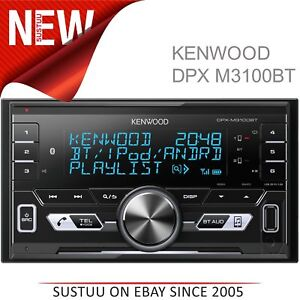 kenwood car stereo radio usb aux bluetooth connect 2 phones ipod iphone android ebay. Black Bedroom Furniture Sets. Home Design Ideas