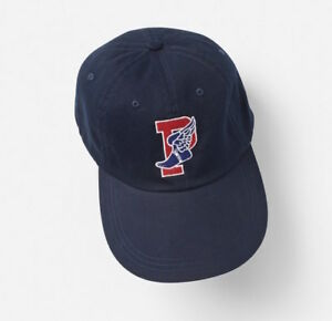 Polo Ralph Lauren Stadium Aviator P Wing Navy Blue White Red Cap Hat ... 8c67c486528d