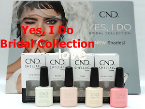 CND-SHELLAC-UV-Gel-Polish-YES-I-DO-Bridal-Collection-GelColor-Choose-Any