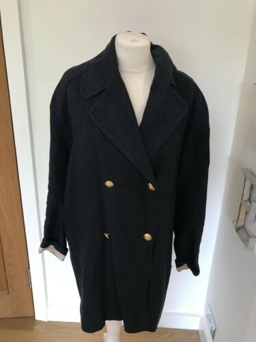Linen Pablo Coat Gorgeous Blend Breasted Size Jacket Women's 38 Double Twxxq5OEp