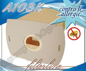 A103K-8-bolsas-de-papel-con-filtro-x-AEG-Vampyrette-202