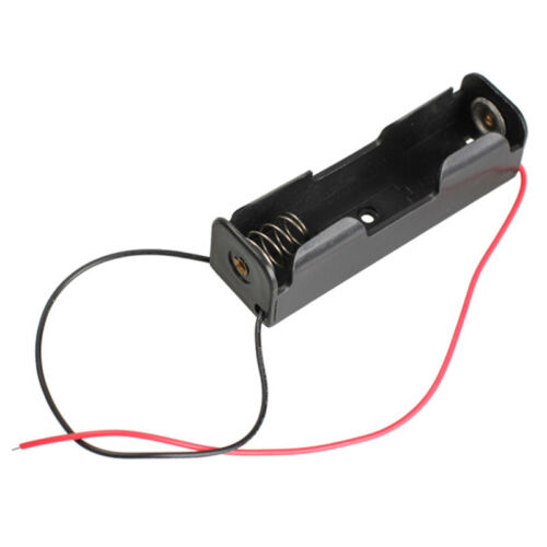 Nuevo 1//2//4//8 Plástico Estuche titular de batería AA AA 1 2 4 8 también 9V titular