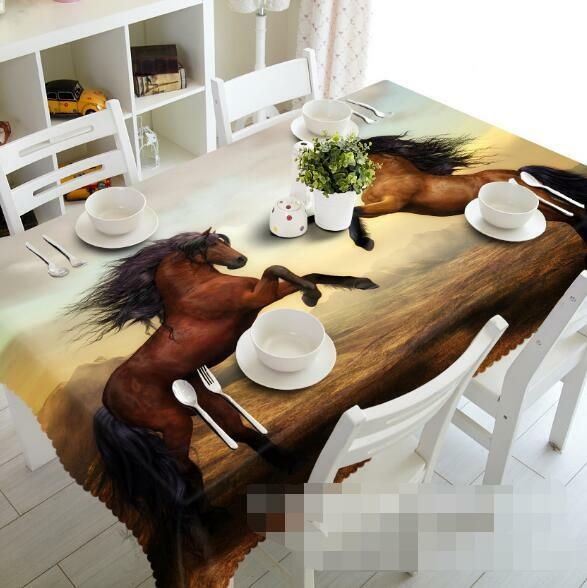 3D Hummer 756 Tablecloth Table Cover Cloth Birthday Party Event AJ WALLPAPER AU