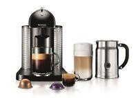 Nespresso Vertuoline Coffee And Espresso Maker With Aeroccino Plus Milk Frother, on sale