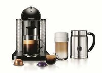 Nespresso Vertuoline Coffee And Espresso Maker With Aeroccino Plus Milk Frother, on sale
