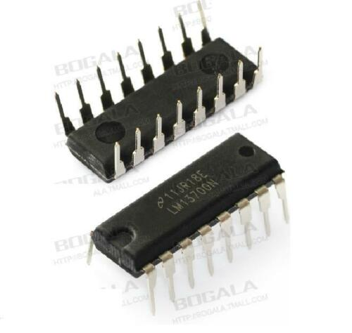 5pcs LM13700 LM13700N INTEGRATED CIRCUIT LM13700N New Good quality