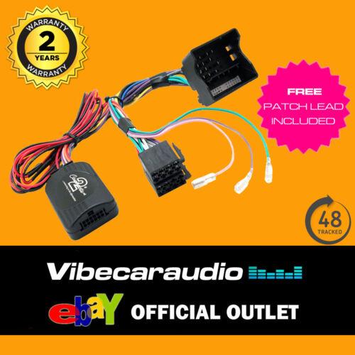 Vauxhall Corsa D 2007/> Steering Wheel Stalk Adaptor CTSVX003 for JVC Stereo