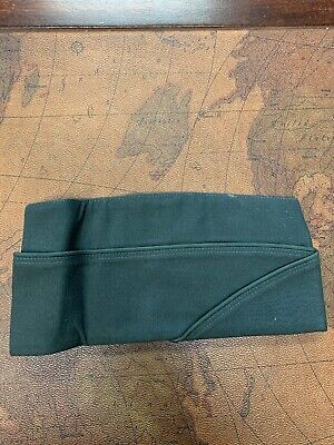 DSCP MEN/'S CAP GARRISON U S ARMY GREEN WEDGE MADE IN USA NEW W TAGS
