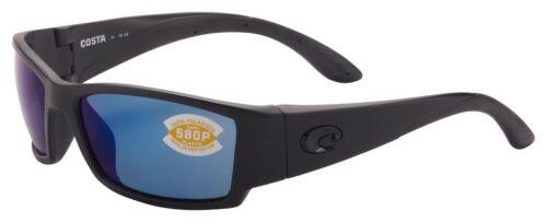 Costa Del Mar Corbina Sunglasses CB-01-OBMP Blackout 580P Blue Mirror Polarized