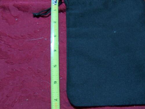 Scrabble Tile Bag Black  w//Drawstring NYLON letter bag