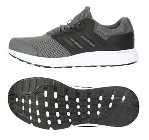 1ef2753465400 Details about Adidas Men Galaxy 4 Cloud-foam Training Shoes Running Gray  Sneakers Shoe BB3565