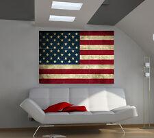Usa. Flag large giant countries poster print photo mural wall art id532