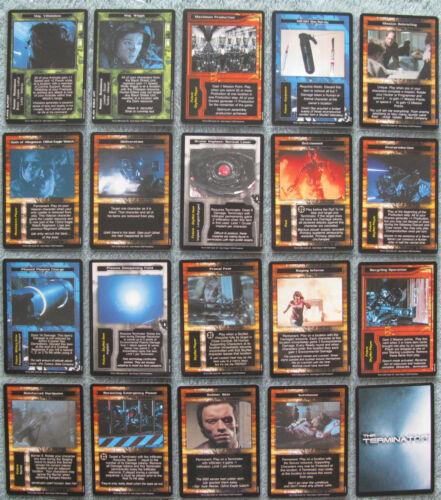 Terminator CCG Rare Cards Part 3//4 M - S