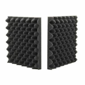50x50x5cm Schaumstoff Noppenschaum Weiss 8 x Akustikschaumstoff ca