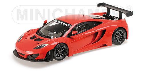 Minichamps 151121392 McLaren 12 C gt3-Street-rouge - 2013 - 1 18  neu neuf dans sa boîte