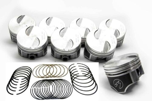 Pistons+Rings Kit 4 40 Mercruiser 470//470R//488R Ford 3.7L//224 Hypereutectic