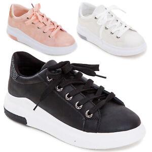 Casual Brillantini Stringate Glitter Sneakers Scarpe Donna Sportive v7gIf6Yby
