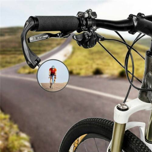 Foldable Mountain Bike Rearview Mirror Bicycle Handlebar Convex Rear View Mirror