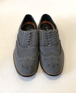 new ferro aldo gray suede leather wingtip oxford casual