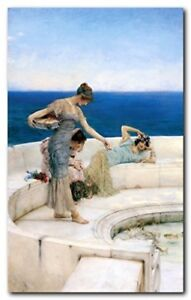 Silver-Favourites-1903-Sir-Lawrence-Alma-Tadema-Wall-Decor-Art-Print-16x20