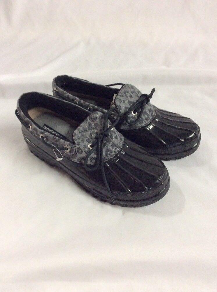 Hay más marcas de productos de alta calidad. Sperry Top Sider Para Para Para mujeres Zapatos De Pato botas M Leapord  edición limitada